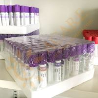 Vacuum blood collection tube EDTA vacutainer