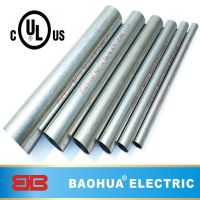 Galvanized steel EMT conduit