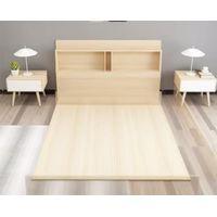 Modern bedroom furniture wood bed thumbnail image