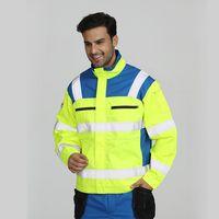 EN20471 protective work jacket for men