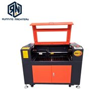 80 Watt 1300900mm CO2 Laser Engraving and Cutting Machine for Acrylic wood paper cloth glass bamboo