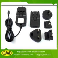 factory best ac dc 9-36w multi-function interchangeable plug adapter