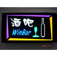 2011 NEW SALES!! LED resin sign at attractive price