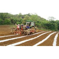 2CZX-2 wide-narrow row space sugar cane planting machine
