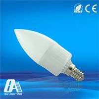 CE RoHS Approved LED Candle Bulbs Light - E14 - Diffusion Cover