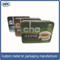 (3 differents size)Tin container sets tea tin box
