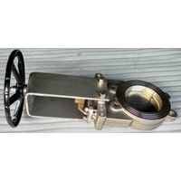 DIN Stainless Steel 304 316 Knife Gate Valves with Replaceable Seat, Bi-Directional