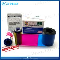 Datacard 535000-003 YMCKT_500 Prints color ribbon for datacard CD800 ID Card Printer