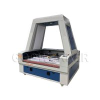 GW-1610 auto feeding laser cutting machine with 2 gantry 2 heads asynchronous