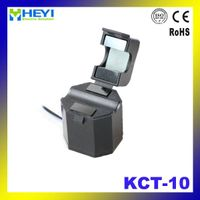KCT-10 single phase current transformer split core ct open type 50A/25mA clamp on current transforme