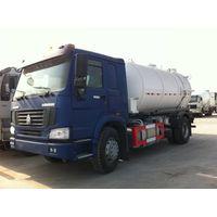 8m3 SINOTRUK HOWO 4x2 Suction Sewage Tanker Truck/ZZ3167M3811