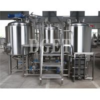 5bbl brewing system stainless steel home customized beer machine for sale thumbnail image