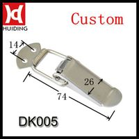 Stainless steel toggle latch / draw latch