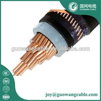 IEC 1x70mm2 Cu/XLPE /SWA power cable 11kv Copper conductor XLPE amoured medium voltaeg power cable