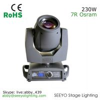 230W Sharpy Moving Head Beam with ZOOM