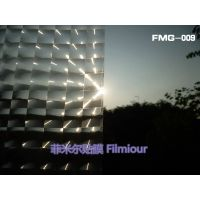 PVC window decorative film FMG-009(no glue, static cling)