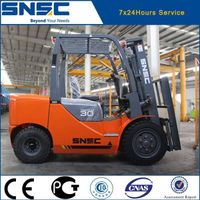 SNSC china new brand 3 ton forklift truck