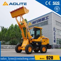 Construction Machinery Factory Mini Wheel Loder With Joystick For Sale thumbnail image