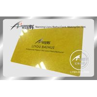 plastic card pvc business card