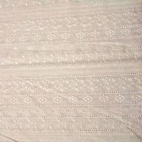 embroidered cotton fabrics lace voile fabric thumbnail image