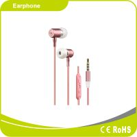 High End Metal Material Stereo MP3 Music Earbuds thumbnail image