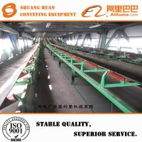 TD75 and DTII type belt conveyor for coal mine of material handling equipment