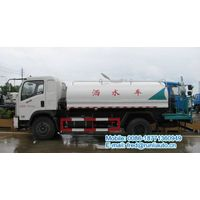 Dongfeng 4X2 8000 liters water spraying truck with high pressure gun
