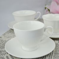 Hot sale marble ceramic coffee cup saucer with spoon