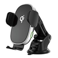 Wireless smartphone chargerholder with quick charging thumbnail image