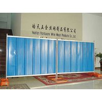 Quick installation easily used temporary steel hoarding for construction site