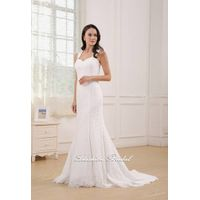 2015 New Elegant lace wedding dress LW1228