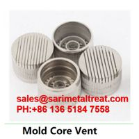 mold Core vent, muold gas core vent plug