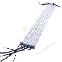1.2m 72leds 5050 RGB LED Hard Strip Light with 4pin connector oneside with needle