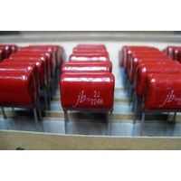 JFB-Metallized Polyester film capacitors--AMMO packing