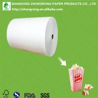 PE coated ivory board for popcorn box