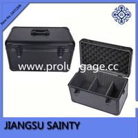 Black tool cases fire-proof plate surface travel aluminum tool case