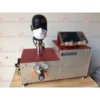 Protective mask respiratory resistance force testing machine