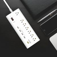2016 new QC3.0 usb charger port power strip with surge protection