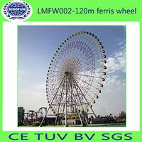 [Sinofun Rides]WheelFerrisWholesale120m Hydraulic Ferris Wheel
