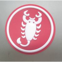New design 3D Silicone Heat Transfer Label for Garment/Apparel