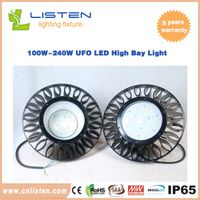 100W~240W UFO LED High Bay Light With Meanwell Driver