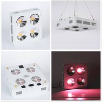 COB Strong stability New Square Red & Blue Flower Plant Grow Light 800W Growth Lighting Longlife Usi thumbnail image