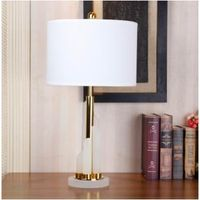 Frost Glass Morden Design table lamp