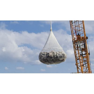 Eco-friendly Fiber Stone Mesh Aqua Bag