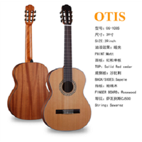 39Inch Solid Top Matt Guitar for Classical Guitar