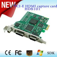 on sale pci-e cctv video capture card 1080p support All capture 3G/HD/SD-SDI,hdmi,DVI,VGA,YPbPr,CVBS thumbnail image