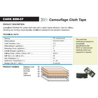 Camouflage Cloth Tape (CAKK 80M-CF)