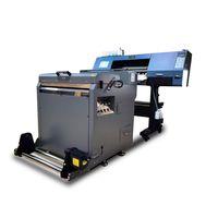 A set of equipment for heat transfer tshirt printer printing machine with shake powder machine