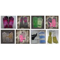 customized leather work gardening gloves for planting for retail thumbnail image