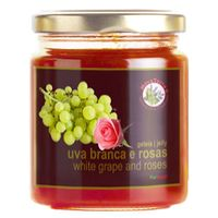 White grape and roses jelly